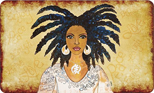 Shades of Color Nubian Queen, Floor Mat (IFM112)