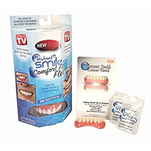 Instant Smile Complete Adult Makeover Kit Natural Shade