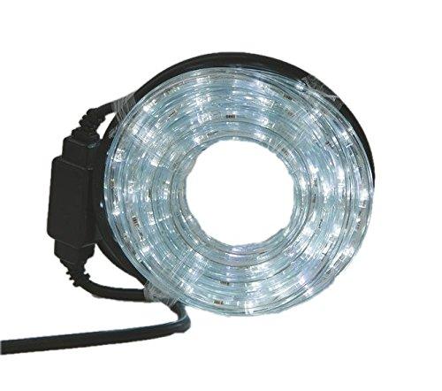 Viscio Trading casa e Xristmas LED Tubo Bianco, 4800x3x3 cm