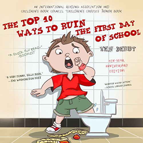 The Top 10 Ways to Ruin the First Day of School cover art