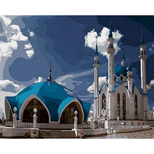 WACYDSD Jigsaw Puzzle 1000 Piece 3D Puzzle Mosque Kazan Diy Home Decor Wall Art In Bedroom