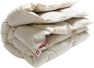 Couverture duvet de canard 220x240 pour toute l'année - Fabriqué en Allemagne - Certifié NoMite & Downpass - Couette en 9...