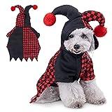 Nobleza - Disfraz de Halloween para Perro, Sudaderas con Capucha para Mascotas, Traje de Perro Novedad Funny Pets Party Cosplay Apparel Ropa para Mascotas Adecuado para Perros/Gatos, Talla L