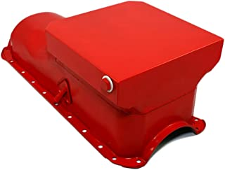 Assault Racing Products A9729 Big Block Chevy Orange Drag Style 6qt Oil Pan BBC 396 427 454