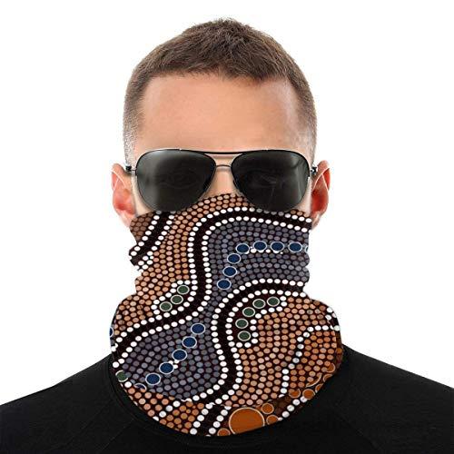 ONLED Bandanas máscara facial Taj Mahal headwear pasamontañas polaina para el cuello banda para el sudor bufanda mágica negra