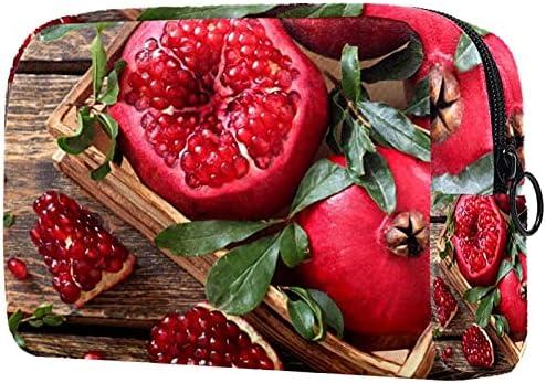 Vrouwen makeup tasCosmetische opbergtas granaatappels Fruit voor reizenCosmetica Organizer