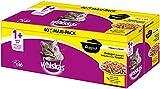 whiskas - Alimento húmedo para Gatos Adultos, envase múltiple,...