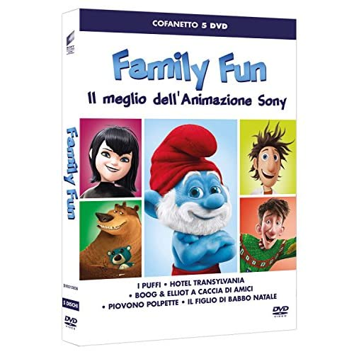 Family Fun (Box 5 Dvd Sony Animation)