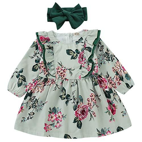 (55% OFF Coupon) Adorable Baby Girl Dress W/ Matching Headband $7.65