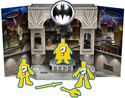 Fisher-Price Imaginext DC Batman Gotham City, Conjunto Pop Up Figuras Surpresas