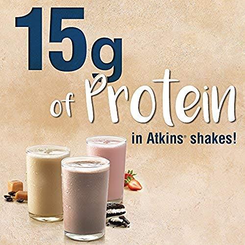 Atkins Gluten Free Protein-Rich Shake, Creamy Vanilla, Keto Friendly, 8 Count (Pack of 1) 3