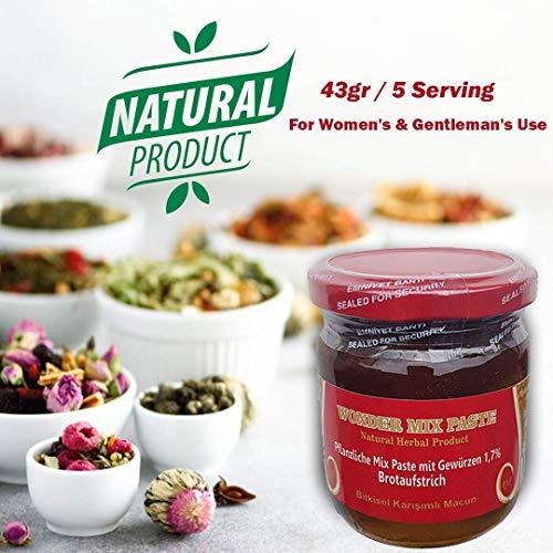 !! AKTIONSPREIS !! 43gr Bitkisel Karisimli Kuvvet Macun Pflanzliche Natural Kraft Paste Aphrodisiac Herbal mix fast besser als Themra - Haltbarkeit bis 2022 - HALAL PRODUCT