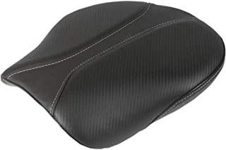 Saddlemen Dominator Solo Seat Pillion Pad Smooth SaddleHyde Motorcycle Accessories - Black