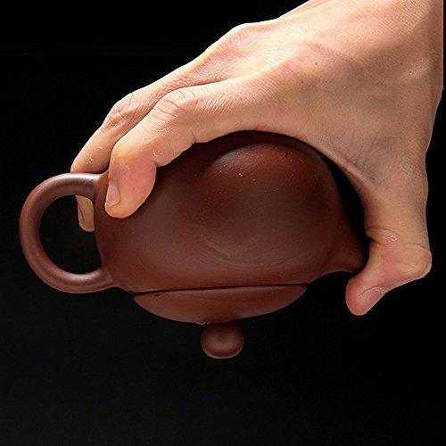 Chinese Yixing Purple Clay Handmade Xishi Tea Pot Zisha Teapot 210cc