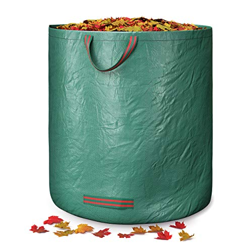 GardenGloss® Saco de Jardín - Cesto Jardín - Bolsas Basura Jardín - Sacos para Desechos de Jardín - Saco de Basura de Jardín