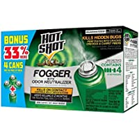 4-Count Hot Shot Indoor Fogger
