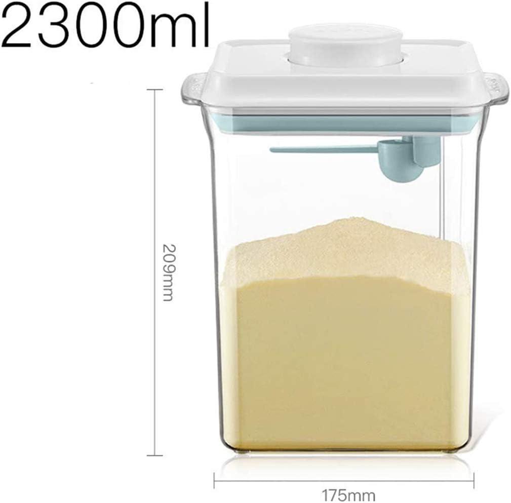 Snacks Cereales. Nocsm 1000ML Dispensador De Polvo De F/óRmula Caja Port/áTil De Almacenamiento De Leche En Polvo para Alimentos Contenedor Port/áTil De Alimentos Sellados para Leche En Polvo