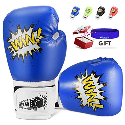 Teaisiy Geschenke für Kinder, Box-Handschuhe für Kinder 5-12 Jahre Junge Spielzeug Mädchen Geschenke 5-12 Jahre Spielzeug ab 5-12 Jahre Mädchen Weihnachts Geschenke für Kinder ab 3-12 Mädchen Spiele
