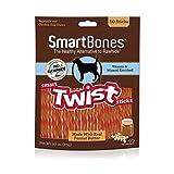 SmartBones Smart Twist Sticks With Peanut Butter...