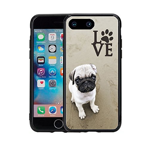 Top pug iphone case 7 plus for 2020