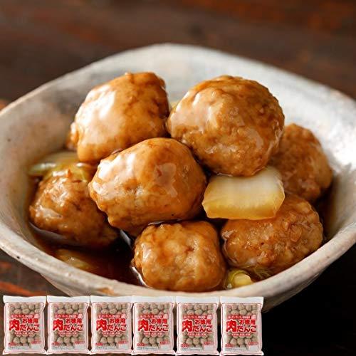 [スターゼン]お徳用 肉だんご 3kg(500g×6)冷凍食品 業務用 大容量 国産鶏肉 お惣菜 おかず おつまみ