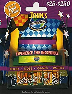 John's Incredible Pizza Company Gift Card