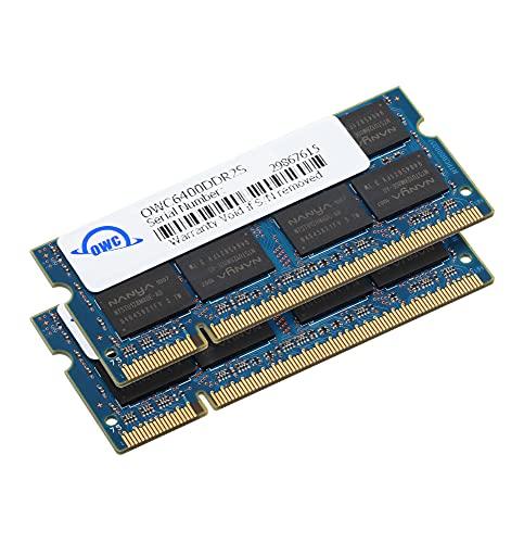 OWC Kit da 4.0 GB (2X 2 GB) Kit di aggiornamento Memoria 200 Pin SO-DIMM PC2-6400 DDR2 800 MHz