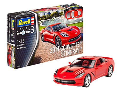 """Revell Revell07060 17.9cm """"2014 Corvette Stingray"""" Model Kit"""