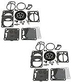 2 Pack of Premium Venom Brand SBN Mikuni Carb Carburetor Kit Fits/Compatible With KAWASAKI 1996-2011 Stand-Up JetSki Jet-Ski 750 SXi/Pro 800 SXR SX-R