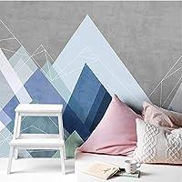 3D壁紙ポスター幾何学模様カスタム大規模な壁紙の壁紙3Dテレビの背景リビングルームの写真の壁紙3Dルームの壁紙-140X100cm(55 x 39インチ)