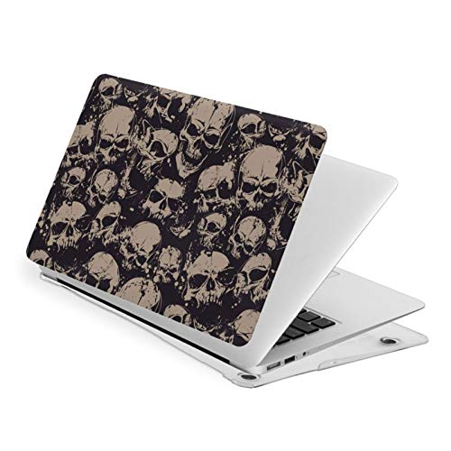 Scary Skulls Death Evil Face Horror MacBook Air 13 Inch Case Slim Fits with A1932 Hard Shell Protective Cover Compatible with Apple Mac Air 13