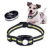 Shine Decor® Anti-Bell-Hundehalsband, kein Schock, USB-wiederaufladbar, Vibrations-Bell-Halsband, automatisches Hundetraining-Halsband, verstellbar für kleine, mittelgroße und große Rassen (grün)