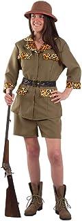 DISBACANAL Disfraz Exploradora Safari Mujer - -, M