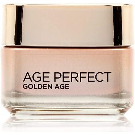 L'Oréal Paris Crema Viso Giorno Age Perfect Golden Age, Trattamento Fortificante, Adatto a Pelli Mature, 50ml