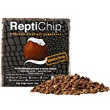 ReptiChip Compressed Coconut Chip Substrate for Reptiles 72 Quart Coco Chips Brick Bedding (Breeder Block)