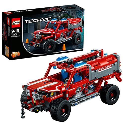 LEGO 42075 Technic First Responder Fire Engine-Fire Truck Construction Set