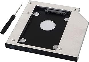 Deyoung 2nd HD SSD Hard Drive Caddy for Dell Inspiron 15R 5521 5537 Swap GU90N SU-208CB