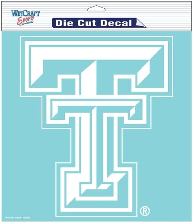 NCAA White Die Cut Decal