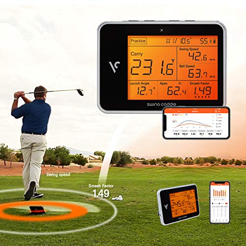 Voice Caddie Golf Swing Caddie SC300 Portable Launch Monitor