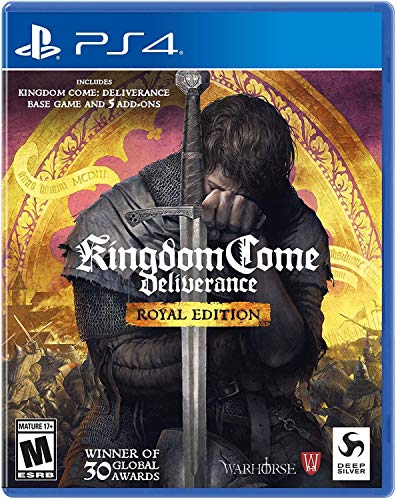 Kingdom Come Deliverance Royal Edition Play Station 4 - Standard Edition - PlayStation 4