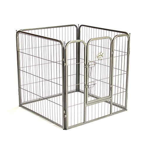 COZY PET Heavy Duty Puppy Playpen Medium Enclosure Dog Cage Dog Run or Crate Whelping Box with Heavy Duty ABS Floor HDDP02. (We do not ship to the Channel Islands.)