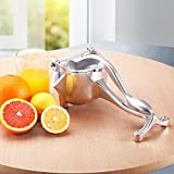 Manual citrus press juicer, Retro style hand press fruit juicer, Clean conveniently-A