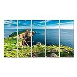 Bild Bilder auf Leinwand Atemberaubender Leuchtturm Dusk