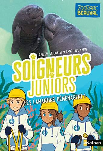 Soigneurs juniors - Les lamantins déménagent - tome 5 - Zoo Parc de Beauval - dès 8 ans (5)