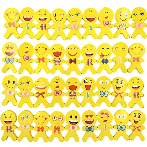 JZK 36 Emoticon Emoji gomma cancellare bambini bomboniera pensiero pensierino regalino dopo festa compleanno bimbi regalo fine festa