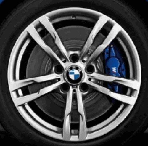 Cerchione in alluminio originale BMW, 4 pezzi, F32-F33 M, doppio raggio, 441 in 18 pollici