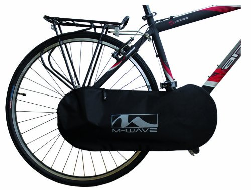 M-Wave Bicycle Chain Guard Cover (Black)