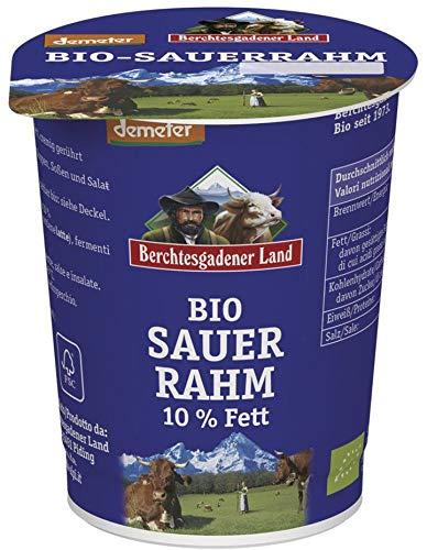Berchtesgadener Land Bio Bio-Sauerrahm 10,0% Fett (6 x 200 gr)