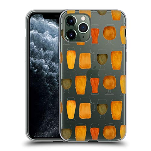 Ufficiale Cat Coquillette Birra Designs Mischiati Cover in Morbido Gel Compatibile con Apple iPhone 11 PRO