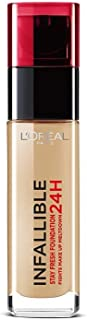 L'Oreal Paris 24H Infallible Foundation 220 Sand 30Ml, Pack Of 1